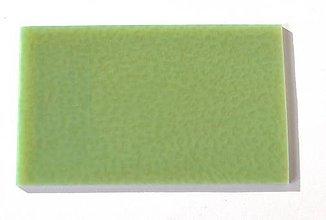 Suroviny - Sklo celadonská zelená, opálové, zn. Bullseye - 7339384_