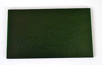 Suroviny - Sklo zelené, priehľadné, zn. Bullseye - 7339666_