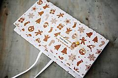 - Vianočná scrapbook obálka na peniaze - 7338197_