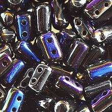 Korálky - Rulla -  Vacuum coating azuro jet /10ks - 7341437_