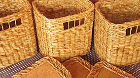 Košíky - Dubáčiky s vrchnákom