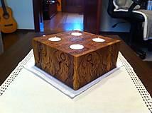 Svietidlá a sviečky - Svietnik Anjelíci - 7341867_