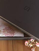 Úžitkový textil - Set troch ľanových utierok s ručnou potlačou ruží a pivónií - 7337815_