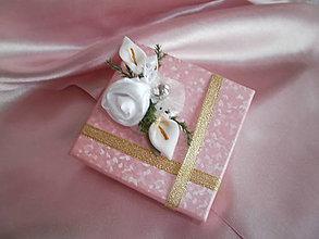 Darčeky pre svadobčanov - Ozdoba na darček - 7340769_