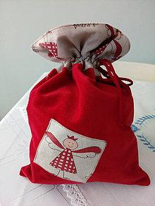 Úžitkový textil - Vrecúško - 7338619_