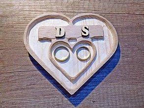 Prstene - vintage svadba/vankúšik pod svadobné prstene XIII - 7337833_