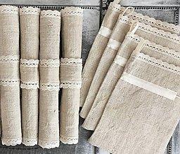 Úžitkový textil - Darčeková súprava NATUR - 7337409_