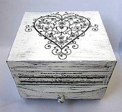 Krabičky - Šperkovnica -