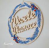 Dekorácie - Vianočný a adventný veniec ihličie - 7342221_