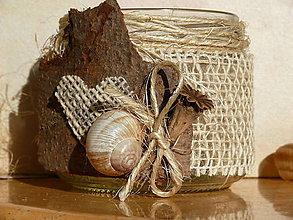 Svietidlá a sviečky - Svietnik Spomaľ - 7344635_