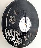 Hodiny - hodiny na stenu Paríž - 7342017_