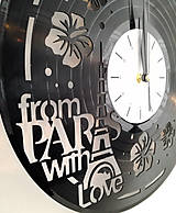 Hodiny - hodiny na stenu Paríž - 7342019_