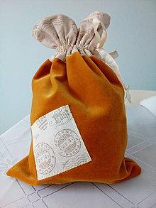 Úžitkový textil - Vrecúško - 7342779_
