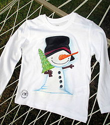 Detské oblečenie - Snehuliak - 7342300_