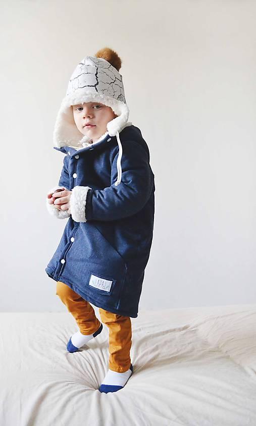 Detské oblečenie - Oversize kabátik z kolekcie ZEM - 7343809_