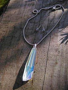 Sady šperkov - Swarovski sada CrystalsAB - 7345969_
