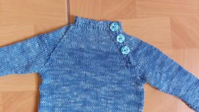 Detské oblečenie - Hodvábna mikinka pre chlapa - 7343729_