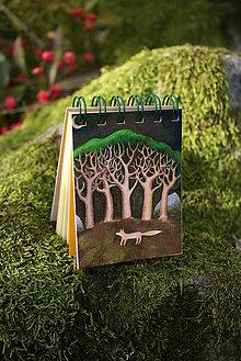Papiernictvo - Notes malý Liška pod stromy - 7347018_