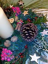 Svietidlá a sviečky - Vianočný dekorácia - 7349501_