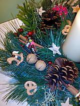 Svietidlá a sviečky - Vianočný dekorácia - 7349502_