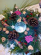 Svietidlá a sviečky - Vianočný dekorácia - 7349506_