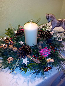 Svietidlá a sviečky - Vianočný dekorácia - 7349500_