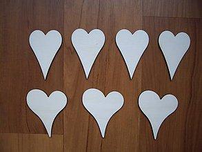 Polotovary - Srdce z dreva 6x4cm - 7349426_