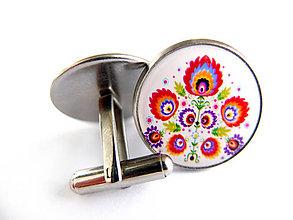Šperky - Manžetové gombíky Flavián - 7347437_