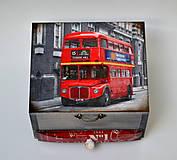 Krabičky - London bus - 7348833_
