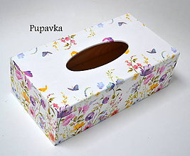 Krabičky - Box na vreckovky - 7348840_
