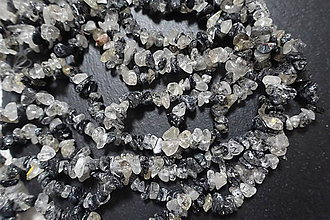 Minerály - Skoryl zlomky - 7349452_