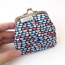 Peňaženky - Peňaženka mini Retro vzor - 7347119_