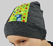 Detské čiapky - Detská čiapka - na objednávku - 7346198_