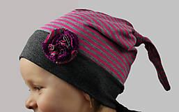 Detské čiapky - Detská čiapka - na objednávku - 7346200_