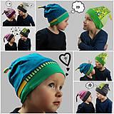 Detské čiapky - Detská čiapka - na objednávku - 7346213_
