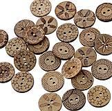 - Kokosový gombíček 18mm (balíček 10ks) - 7347628_