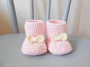 Topánočky - Nežné čižmičky - 7348006_