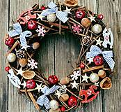 - Vianočný veniec Miš maš - 7352510_
