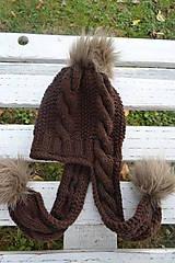 Detské čiapky - Čiapka s uškami - 7353414_