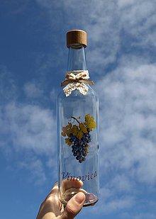 Darčeky pre svadobčanov - 0,5 L fľaša na domácu pálenku - rôzne motívy - 7351780_