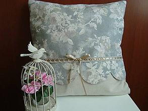 Úžitkový textil - Dekoračný vankúšik - 7355398_