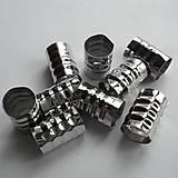 Komponenty - Koncovka na šnúrky a gumičky 8x12mm-1ks - 7350384_