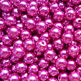 - GLANCE plast 6mm-ružová ostrá-50ks - 7353363_