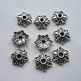 Komponenty - Kaplík kvet 7,2x1,9mm-1ks - 7353694_
