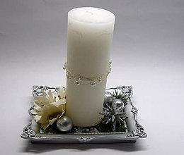 Svietidlá a sviečky - Strieborný - 7354482_