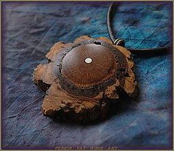 Náhrdelníky - 501. náhrdelník - KORKOVÝ DUB - Francie - 7350475_