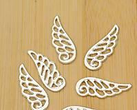 Komponenty - Prívesok anjelske krídla - 7351910_