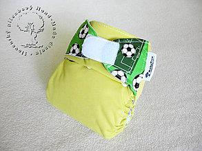 Detské doplnky - !Na patentky! Bude zo mňa futbalista - PUL Kapsová Plienočka (veľ. S-M-L) + vkladačka - 7355772_