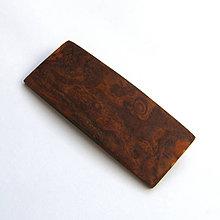 Odznaky/Brošne - Obdĺžnik z topoľovej kôry - 7352270_