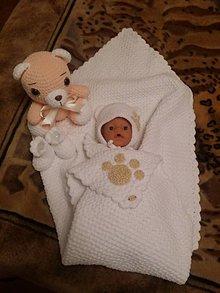 Detské súpravy - Súprava pre bábätko - 7359861_